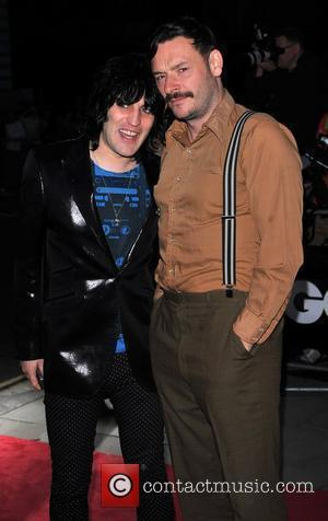 Noel Fielding and Julian Barrett GQ Men of the Year Awards held at the Royal Opera House - Arrivals London,...