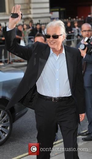 Jimmy Page GQ Men of the Year Awards held at the Royal Opera House - Arrivals London, England - 02.09.08