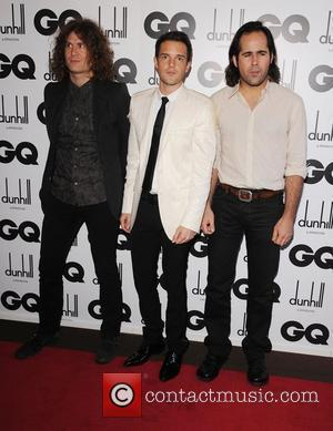 The Killers GQ Men of the Year Awards held at the Royal Opera House - Inside Arrivals London, England -...