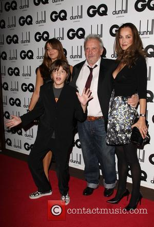 David Bailey with his family GQ Men of the Year Awards held at the Royal Opera House - inside arrivals...