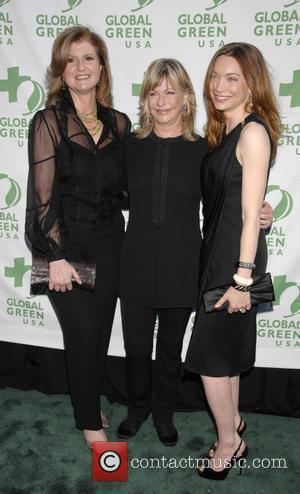 Arianna Huffington, Lyn Lear and Melanie Ellison 12th Annual Green Cross Millennium Awards - Arrivals held at The Fairmont Miramar...