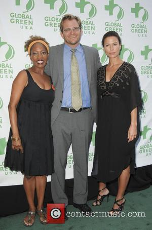 Alfre Woodard, Matt Petersen and Rhona Mitra
