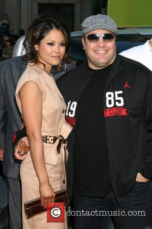 Kevin James & Wife 'Hancock' Los Angeles Premiere - Arrivals held at the Grauman's Chinese Theatre Hollywood, California - 30.06.08