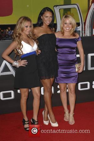 Adrienne Bailon, Kiely Williams and Sabrina Bryan of The Cheetah Girls Los Angeles premiere of 'Hancock' held at the Grauman's...