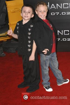Atticus Shaffer and Jae Head Los Angeles premiere of 'Hancock' held at the Grauman's Chinese Theatre - Arrivals Hollywood, California...