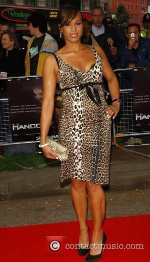 Javine Hylton London premiere of 'Hancock' at Vue West End - Arrivals London, England - 18.06.08