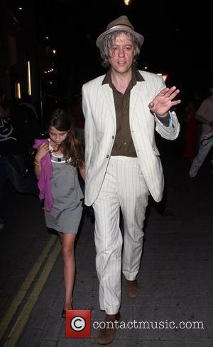 Bob Geldof and Daughter Tiger Lilly