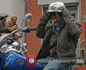 Shaun Wright-Phillips 2008 Harley Davidson celebrity charity bike ride London, England - 10.08.08