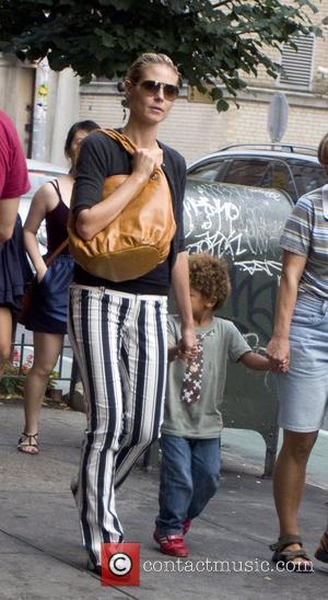 Heidi Klum and her family