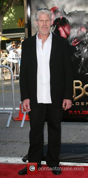 Ron Perlman The 'Hellboy 2: The Golden Army' premiere at the Mann Village Theater Los Angeles, California - 28.06.08