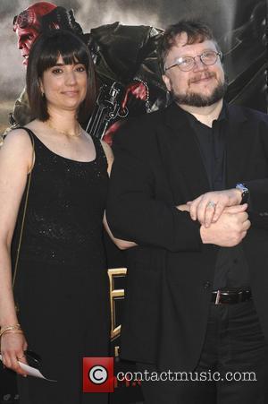Selma Blair and Guillermo Del Toro
