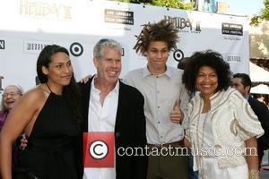 Ron Perlman and family The 'Hellboy 2: The Golden Army' premiere at the Mann Village Theater Los Angeles, California -...