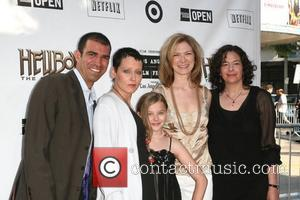 Lori Petty and guests The 'Hellboy 2: The Golden Army' premiere at the Mann Village Theater Los Angeles, California -...