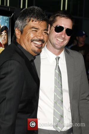 George Lopez and Luke Wilson