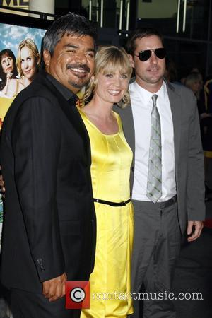 George Lopez and Radha Mitchell