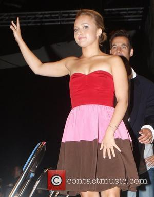 Hayden Panettiere cast of 'Heroes' promoting their show at Comic Con 2008 at the San Diego Conference Center San Diego,...