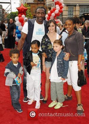 Linford Christie,  Arrivals at the 'High School Musical' press night at the Hammersmith Apollo London, England - 05.07.08