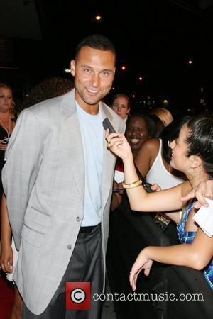 Derek Jeter Celebrities and Athletes Celebrate Derek Jeter in High Style at the Marquee Nightclub - Arrivals New York City,...