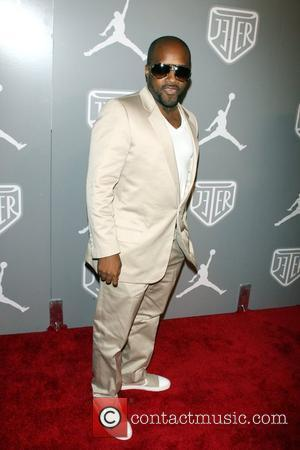 Jermaine Dupri Celebrities and Athletes Celebrate Derek Jeter in High Style at the Marquee Nightclub - Arrivals New York City,...