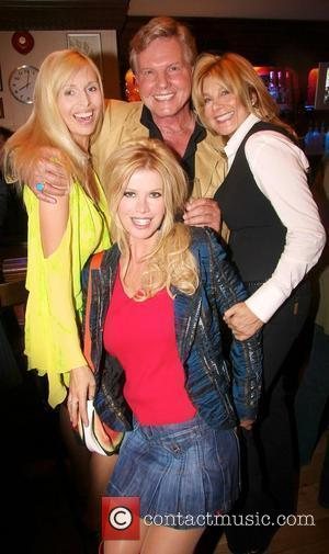 Anneka Svenska, Cindy Jackson, Jess Conrad and Jilly Johnson The Launch of 'Hollywood Heat' by Steve Rowland held at The...