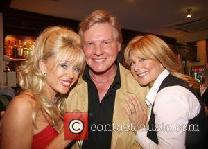 Sally Farmiloe, Jess Conrad and Jilly Johnson The Launch of 'Hollywood Heat' by Steve Rowland held at The Beauchamp London,...