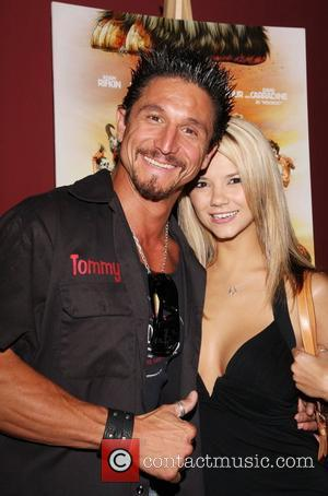 Tommy Gunn and Ashlynn Brooke National Lampoon's 'Homo Erectus' special screening at the American Cinematheque Steven Spielberg Theater Hollywood, California...