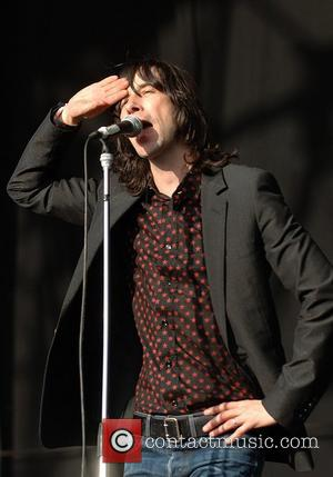 Bobby Gillespie of Primal Scream performs at The Hop Farm Festival Paddock Wood, England - 06.07.08