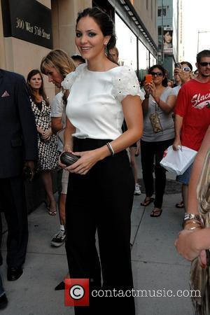 Katherine McPhee Screening of The Bunny House - outside arrivals at the Hearst Building New York City, USA - 18.08.08