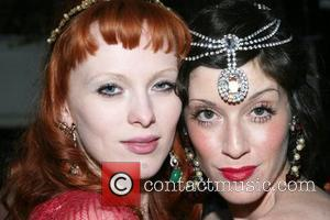 Karen Elson and Sarah Sophie Flicker House of Lavande Dinner hosted by Karen Elson & Sarah Sophie Flicker at Bobo...