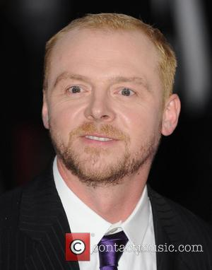 Simon Pegg Premiere of 'How To Lose Friends And Alienate People' at Empire theatre, Leicester Square London, England - 24.09.08