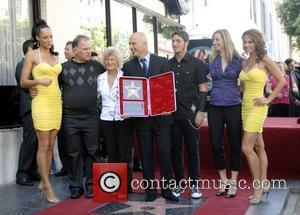 Howie Mandel and Family Howie Mandel is honored with a star on the 'Hollywood Walk of Fame' Los Angeles, California...
