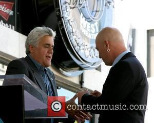 Jay Leno and Howie Mandel Howie Mandel is honored with a star on the 'Hollywood Walk of Fame' Los Angeles,...