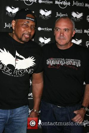 Aaron Neville and Hamish Dodds
