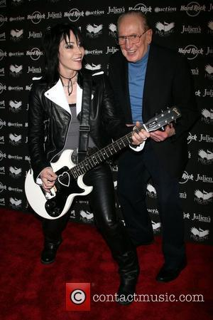 Joan Jett and Les Paul