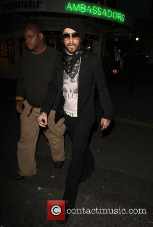 A.J McLean at the Ivy London, England - 07.06.08