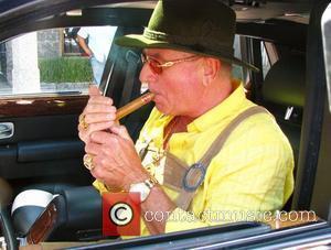 Frederic Prince Von Anhalt dressed in Lederhosen leaves the Ivy restaurant Los Angeles, California - 23.06.08