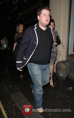 James Corden  Arriving at Mahiki in Mayfair with some female friends London, England - 03.06.08