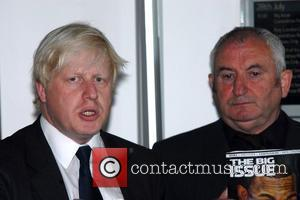 Boris Johnson and John Bird