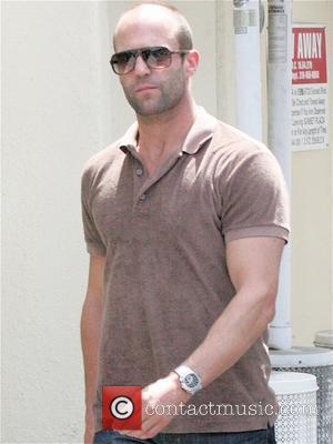 Jason Statham has lunch alone at Sunset Plaza Los Angeles, California - 04.08.08