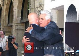 Howie Mandel and Jay Leno