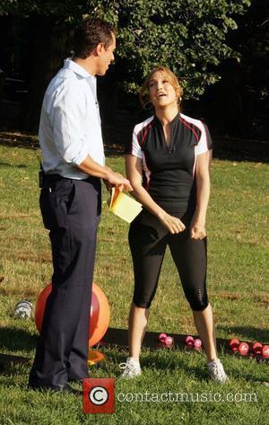Chris Cuomo and Jennifer Lopez