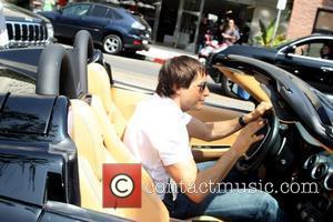 Joe Francis leaving The Ivy Los Angeles, California - 28.08.08