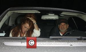 Joe Pesci and Angie Everhart leaving AGO restaurant Los Angeles, California - 02.09.08