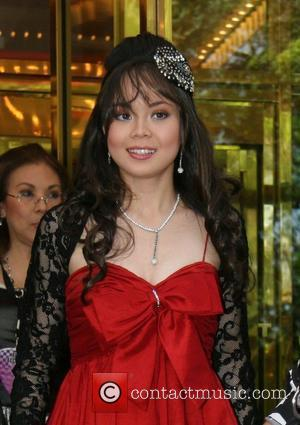 Anna Maria Perez de Tagle leaving her Manhattan hotel to attend the New York premiere of 'Camp Rock' New York...