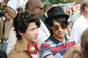 Nick Jonas, Joe Jonas and Manhattan Hotel