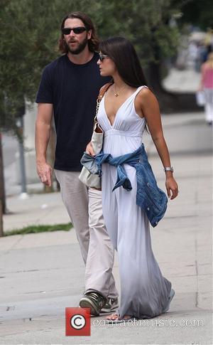 Jordana Brewster with her boyfriend taking a stroll in West Hollywood Los Angeles, California - 16.06.08