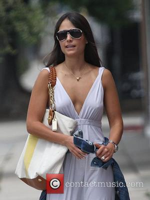 Jordana Brewster with her boyfriend taking a stroll in West Hollywood Los Angeles, California - 16.06.08