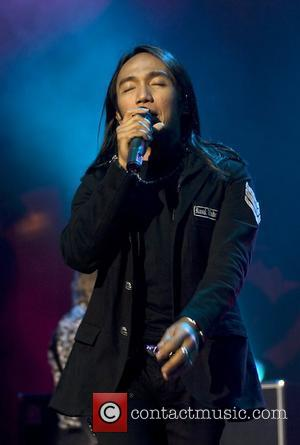 Arnel Pineda Journey performing at Manchester Apollo theatre on the second gig of their UK tour Manchester, England - 19.06.08