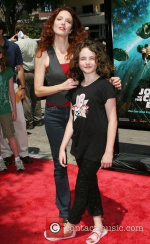 Amy Yasbeck and guest Arrivals at the 'Journey to the Center of the Earth' premiere Los Angeles, California - 29.06.08