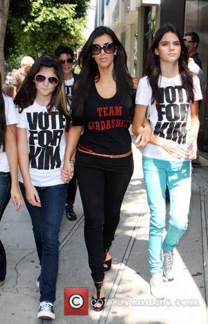 Kylie Jenner and Kim Kardashian